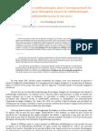 L'évolution des méthodologies dans l'enseignement du FLE depuis le méthodologie traditionnelle jusqu'a nos jours