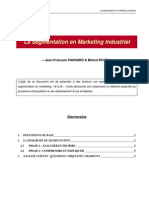 La Segmentation en Marketing Industriel