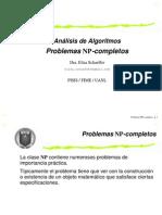 Analisis de Algoritmos Problemas NP- Completos