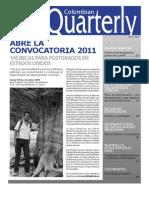 Colombian Quarterly - Marzo 2010