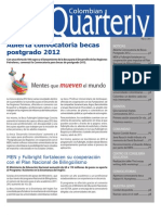 Colombian Quarterly - Marzo 2011