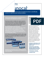 Immunocal Brochure