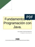 Fundamentos de Programación con Java