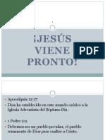 Cristo Viene_Avancen No Retrocedan