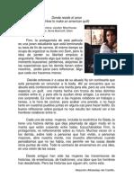 DONDE RESIDE EL AMOR presentación