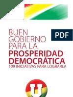 SANTOS PRESIDENTE - 109 PROPUESTAS