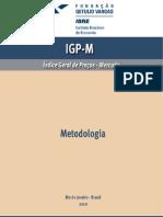 METODOLOGIA IGP-M_2010