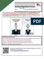 NSRF May 2012 Newsletter