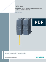 Manual for as-i Master CM 1243-2 and as-i Data Decoupling Unit DCM 1271 for SIMATIC S7-1200