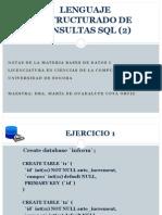 Ejercicios SQL Ejem. Colate