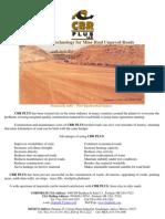 CBR PLUS LLC for Mine Haul Unpaved Roads
