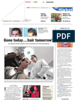 "Palm Beach Post Article ""Hair Tomorrow"" feat. Dr. Alan J. Bauman"