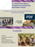 Arratia Gutierrez Derechos Colectivos Agua Genero