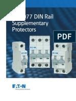 UL 1077 DIN Rail Supplementary Protectors