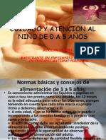 CUIDADO Y ATENCION AL NIÑO DE 0 A