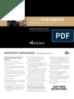 Keurig B40 Use&Care Guide