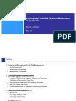 Intro to Credit Risk Exposure Measurement