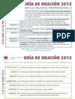 Guía Oración Mayo 2012