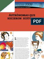 mujeres astronomas