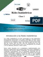 Clase 1-Introduccion Redes Inalámbricas