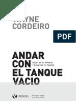 Andar Con El Tanque Vacio_Wayne Cordeiro