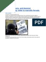 wikileaks nazis anti-feminist cyberstalking letter to marcello ferrada de noli