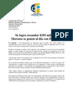 Se logra recaudar $103 millones Morosos se ponen al día con Hacienda