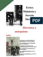 Elecciones y Anarquismo de Errico Malatesta y Saverio Merlino