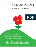 David Snopek - Natural Language Learning (V1)