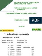Educacao Campo_programas_julho de 2011