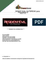 Guia Trucoteca Resident Evil Outbreak Play Station 2
