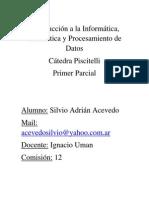Parcial 1 - Datos