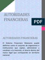 AUTORIDADES FINANCIERAS