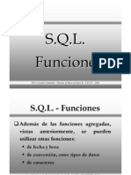 SQL Funciones