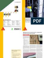 Adhesivos Construccion Reparacion Estruct Concret%Sika Informaciones Tecnicas