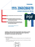 Toshiba 2060_2860_2870 Manual de Reparacion