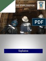 Manejo de Explosivos Ingenieria Del Explosivo