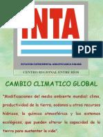 Cambio Climático y Pción Sostenible