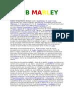 Biografia Bob Marley