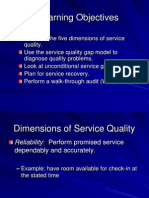 5. Dimensions of Quality and Recovery