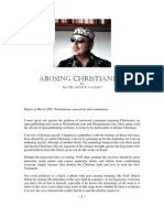 Abusing Christianity by David Arthur Walters