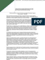 PLANTAS PSICOATIVAS USADAS EM RITUAIS DE CURA