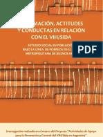 Información, actitudes y conductas en relacion con el Vih-sida