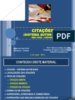 Abnt Citacao Autor Data 2012
