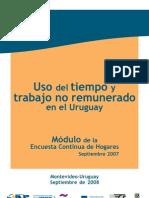 Uso Del Tiempo y Trabajo No Remunerado Uruguay