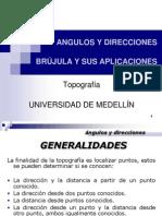 Angulos y Direcciones - Brujúla