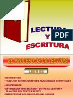 El Proceso de La Lectura y Escritura