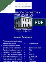 Costos y Pptos ECS