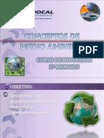 Curso Inducción Ambiental - 1º Módulo