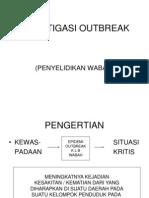 Investigasi Outbreak